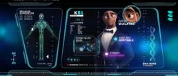 Sample of a view of a holographic interface from Spies in Disguise